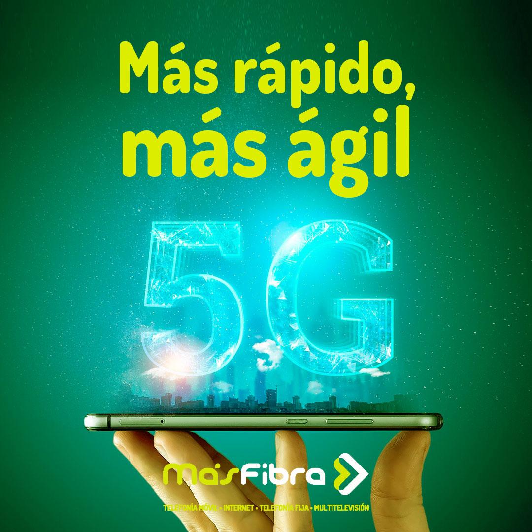 MásFibra anuncia su acuerdo para el próximo lanzamiento de la tecnología 5G en Riba-roja del Turia.